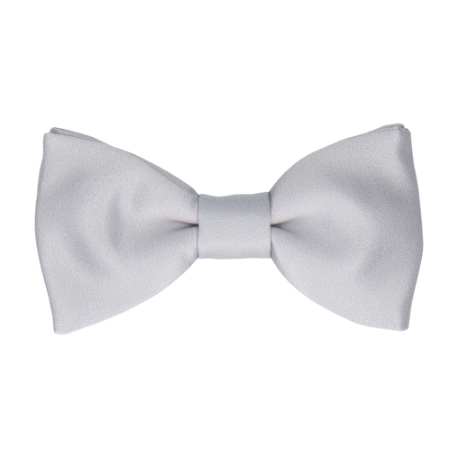 Classic in Platinum Bow Tie