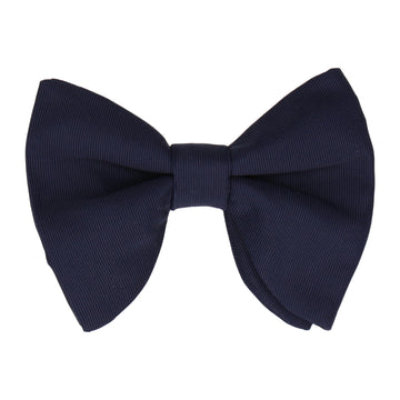 Grosgrain Navy Blue Large Evening Bow Tie