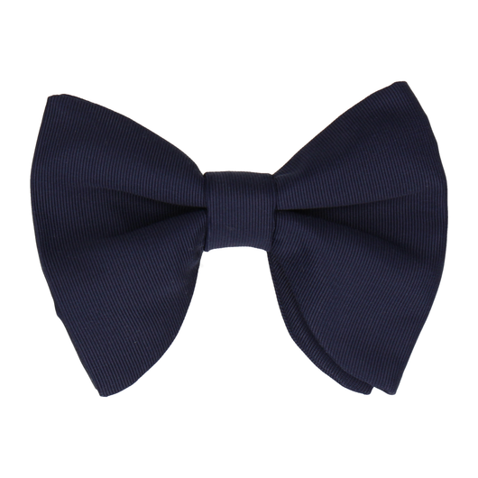 Grosgrain in Navy Large Evening Bow Tie