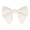 Grosgrain in Ivory Large Evening Bow Tie