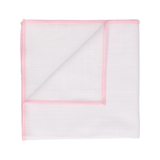 Clooney in Light Pink Edge Handkerchief