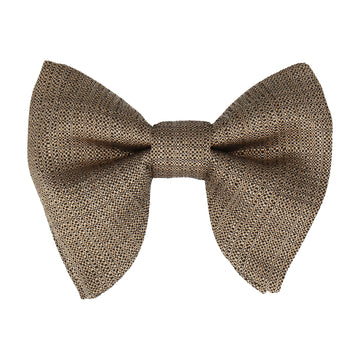 Luxury Gold Textured Large Evening Bow Tie
