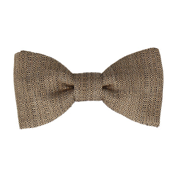Luxury Gold Textured Bow Tie