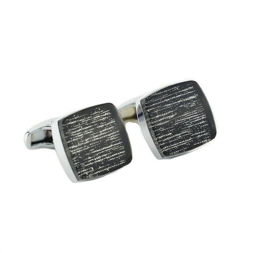 SILVER STRANDS CUFFLINKS