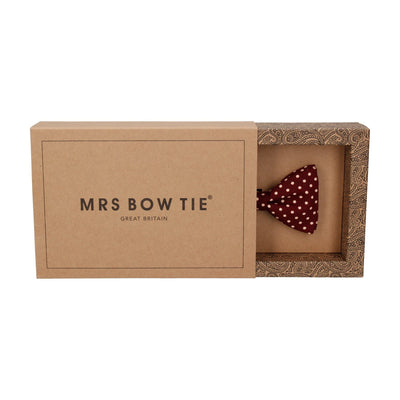 Chiswick in Burgundy Bow Tie
