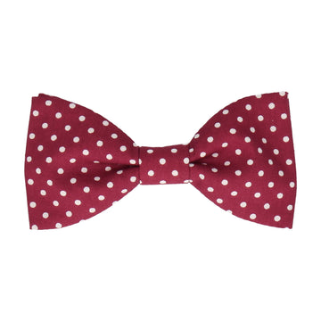 Chiswick in Cranberry Bow Tie