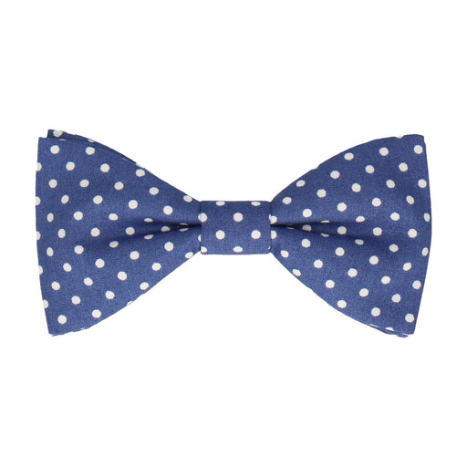 Chiswick in French Blue Bow Tie -Standard-Pre-Tie- - bowties by Mrs Bow Tie