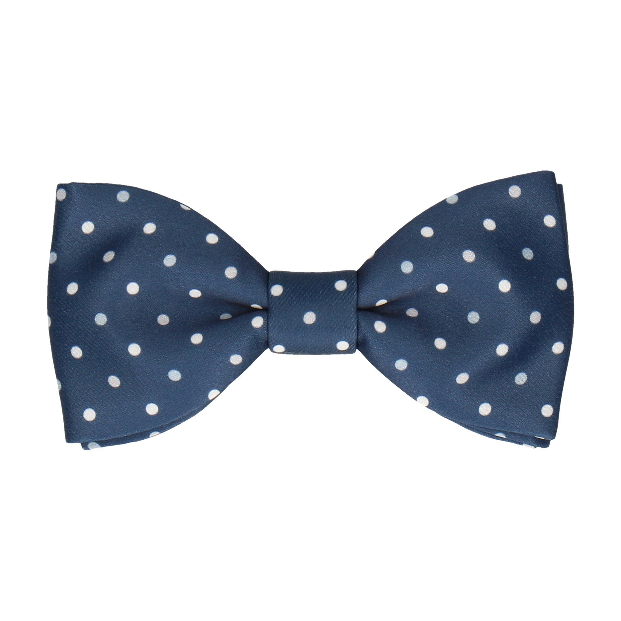 Oakmere Navy Blue & Grey Bow Tie