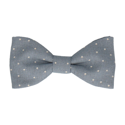 Maison Dusty Blue Bow Tie