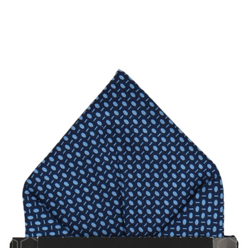 Bidden in Blue Pocket Square