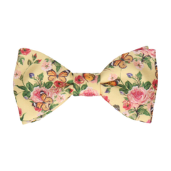 Rowney Soft Yellow Bow Tie