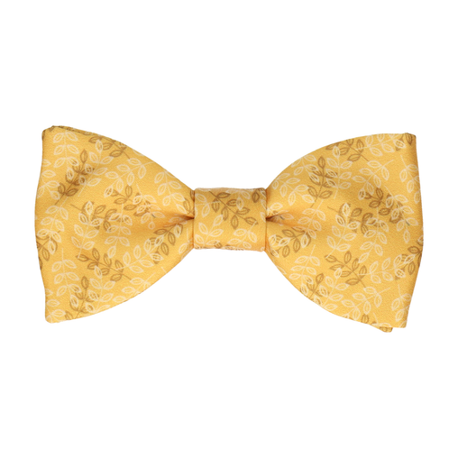 Aberdeen in Mustard Gold Bow Tie