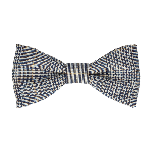Prince of Wales Check Bow Tie