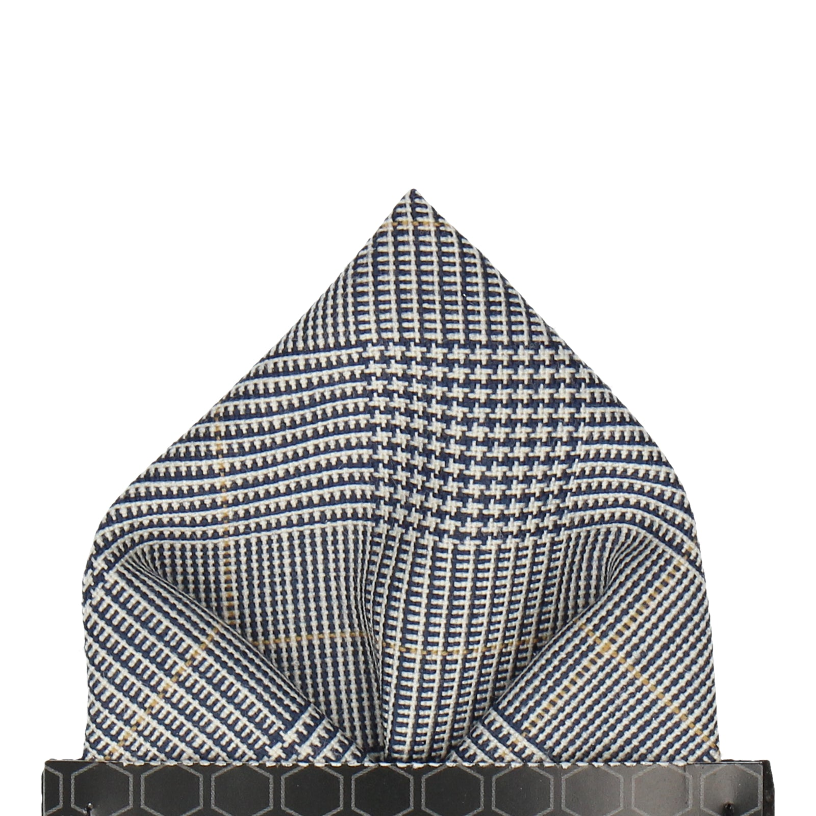 Prince of Wales Check Pocket Square
