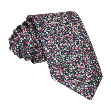Ditsy Floral Pink Flower Wall Tie