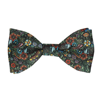 Botanical Multicolour Quirky Floral Bow Tie