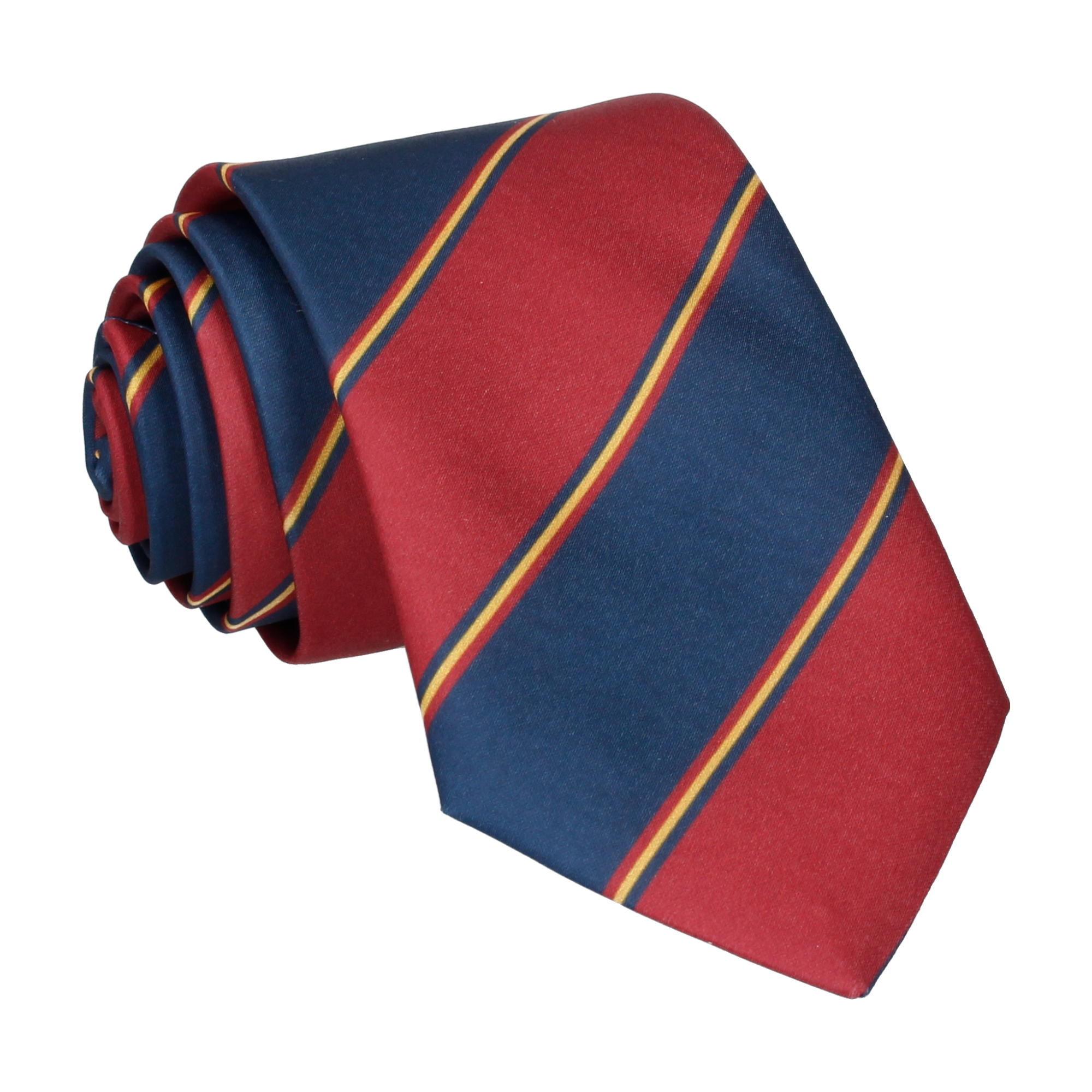 Arundel in Red & Navy Tie