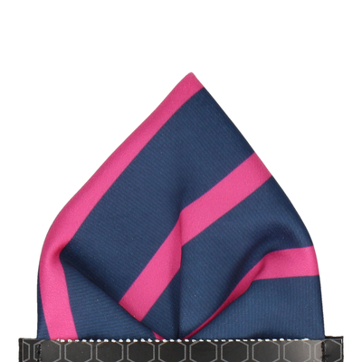 Albion in Cerise Pocket Square