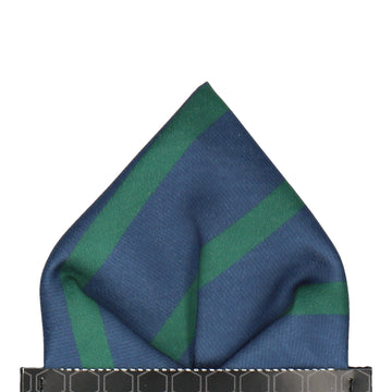 Albion in Green Pocket Square