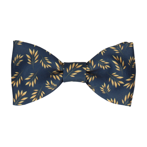 Anglia in Navy Blue Bow Tie