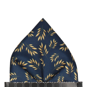 Anglia in Navy Blue Pocket Square