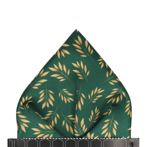 Anglia in Green Pocket Square