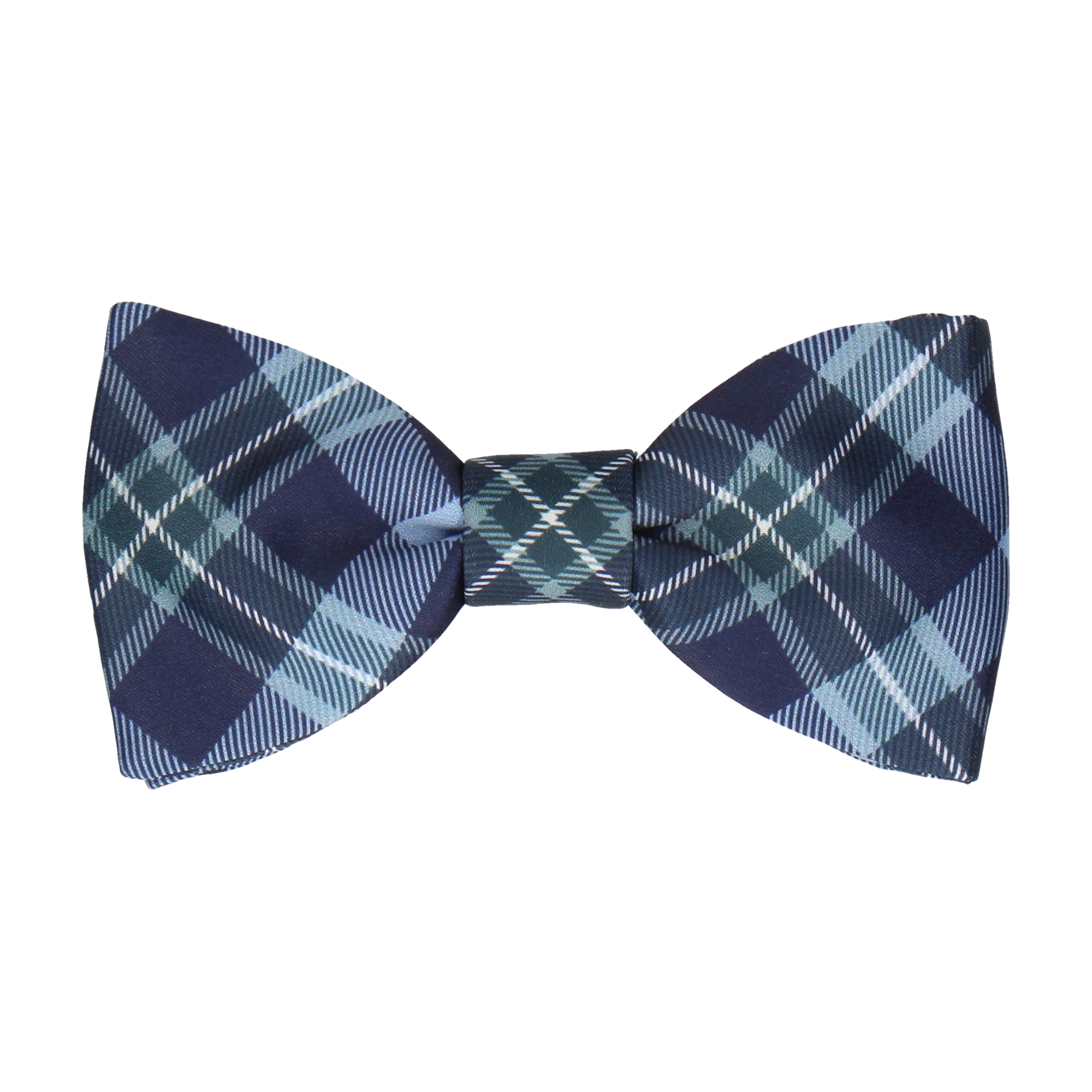 McEwen in Steel Blue Bow Tie