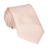 Light Peach Wedding Fans Tie