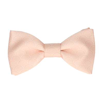 Wordsworth in Light Peach Bow Tie