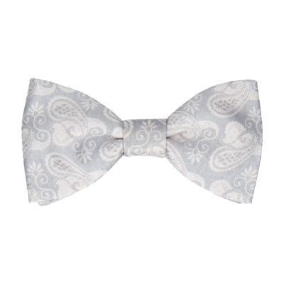 Shelley in Platinum Bow Tie