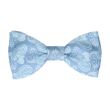 Shelley in Steel Blue Bow Tie