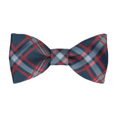 Magnus in Navy & Red Bow Tie