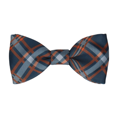 Magnus in Navy & Orange Bow Tie