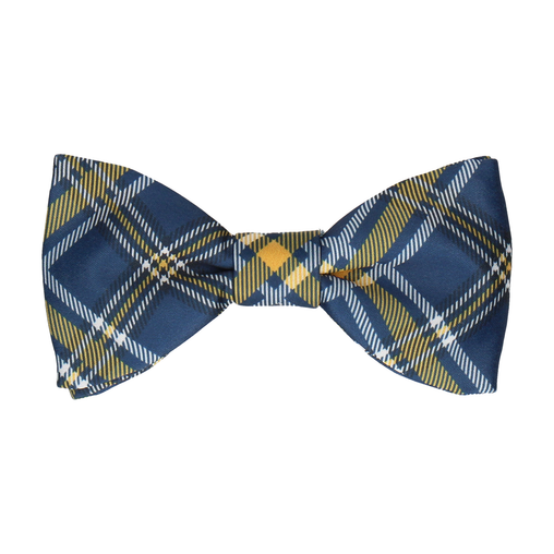 Magnus in Prussian Blue & Yellow Bow Tie