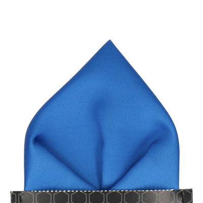 Classic in Royal Blue Pocket Square