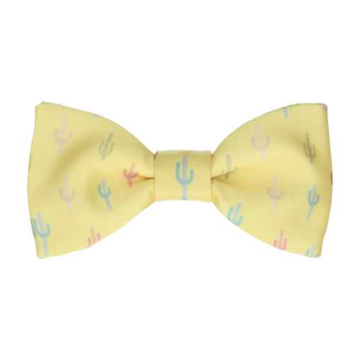 Cacti in Lemon Bow Tie