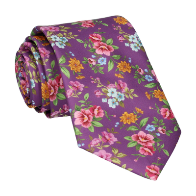 Delilah in Orchid Purple Tie