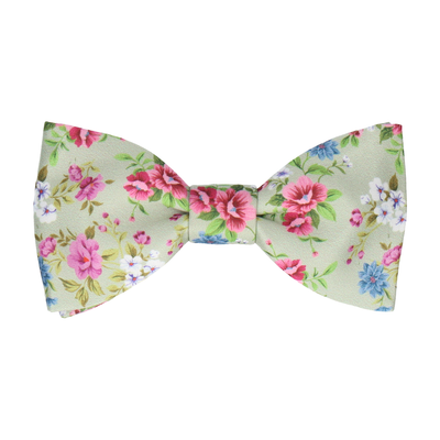 Delilah Sage Green Bow Tie