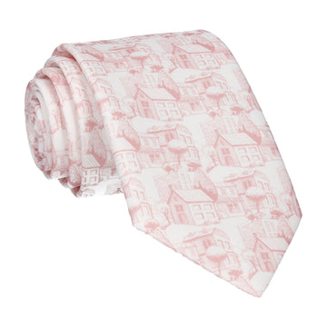 Provence in Pink & White Tie