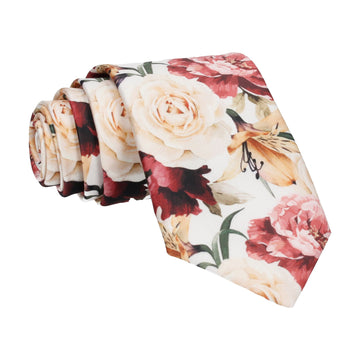 Lily Rose Bouquet White Tie
