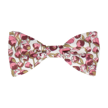 Pale Pink Tulip Elizas Liberty Cotton Bow Tie