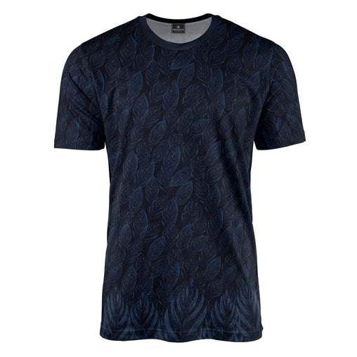 Leaf Shadow Blue Tee