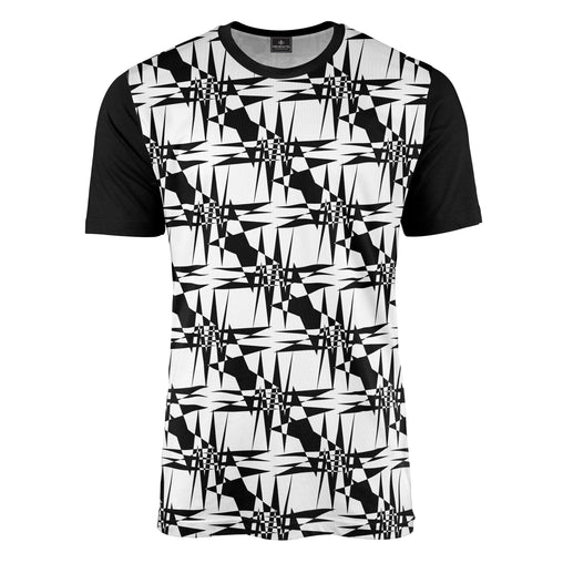 Geometric Checkerboard Tee