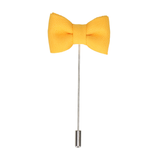 Yellow Bow Tie Lapel Pin