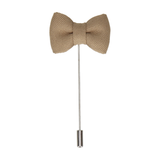 Gold Bow Tie Lapel Pin