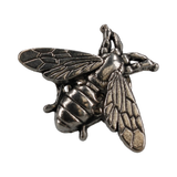 Silver Bee Lapel Pin