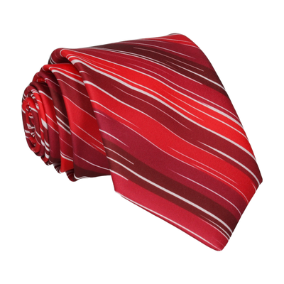 Red Rock Stripe Tie