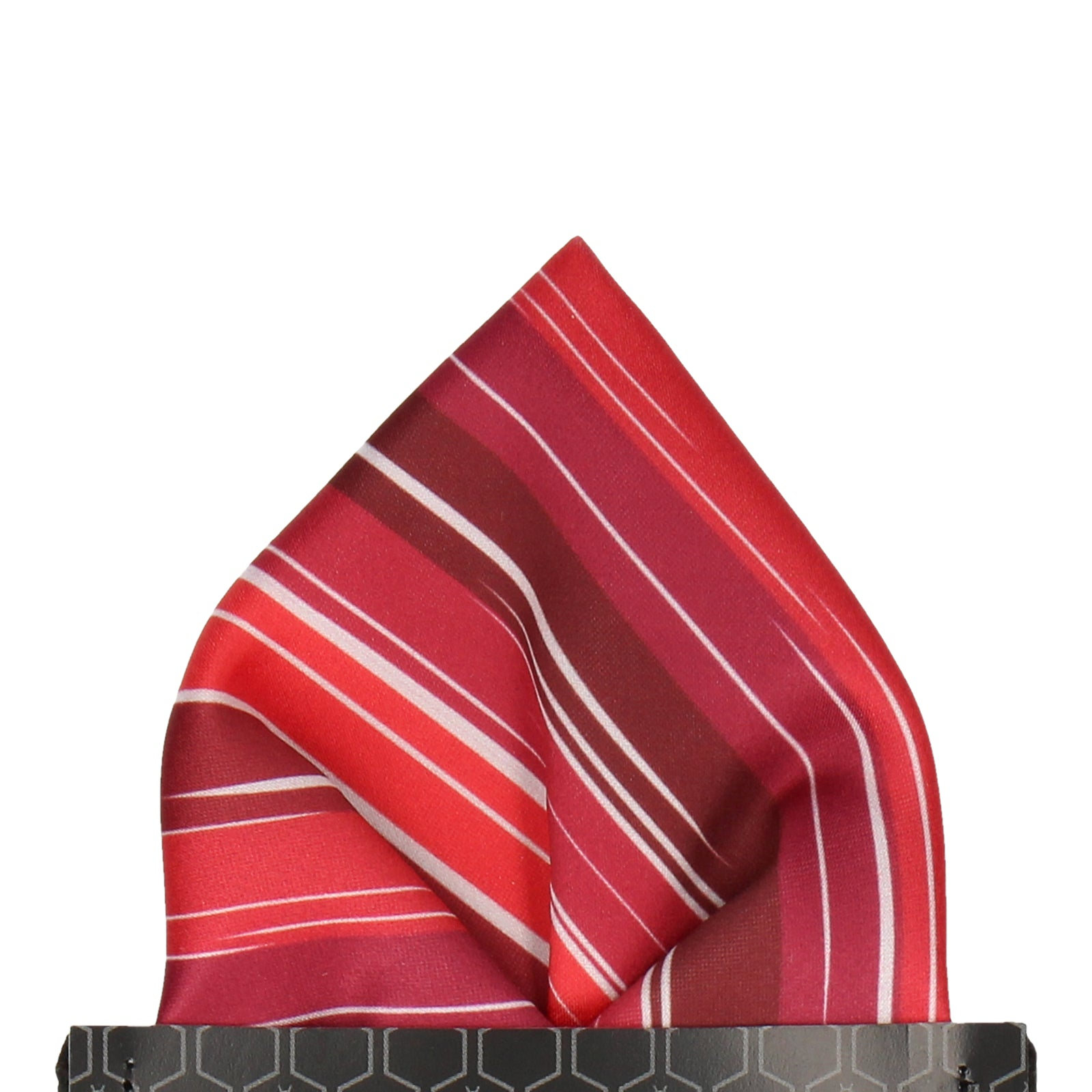 Red Rock Stripe Pocket Square