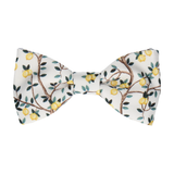 Lemon Tree White Bow Tie