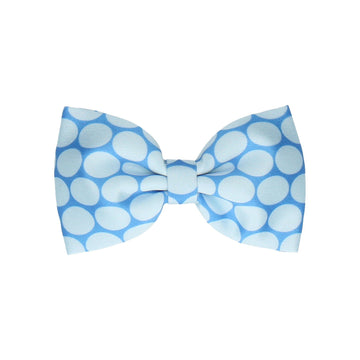 Blue Ovals (Child's Bow Tie)